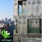 Quality Decorative Aluminium panel waterproof aluminum facade panel with powder coated for sale