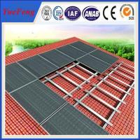 Quality Roof standard solar mount,Aluminium Alloy Solar Roof Mounting for sale