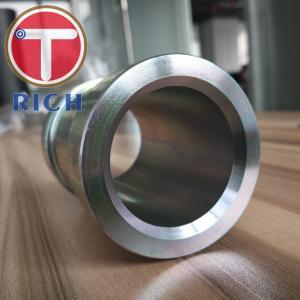 China GB/T 13912-2002 Seamless Pipe Machining / Hot Dip Galvanized Machining Steel Tube For Bush Arm on sale