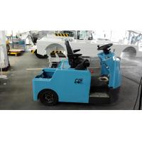 Quality Blue Baggage Towing Tractor Carbon Steel Material With Lead Acid Battery for sale