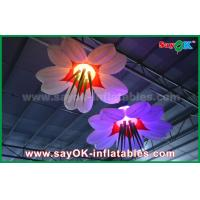 Buy LED Hang Flower Inflatable Lighting Decoration Nylon Cloth For Advertising / at wholesale prices