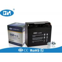 China High Capacity Small Lead Acid Battery , Sealed 12 Volt Battery Acid Resistance on sale