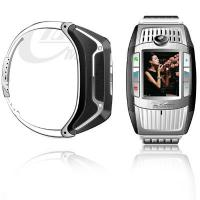 Quality MQ006 Metal Men's Wrist Watch Phone With 1.3M Pixel camera, 850mA capacity battery for sale