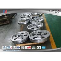 Quality AS4140 Rail Wheel Ring Rolling Forging Rough Machined Forged Shaft for sale