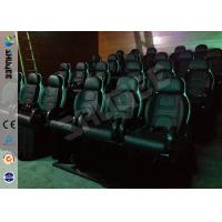 Quality 7D Simulator Cinema Movie Theater With Motion Seats For Theme Park for sale