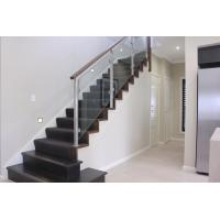 Quality Customized Modern High Quality Stainless Steel Glass Railing for Stairs for sale