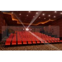 Quality Upscale 4D Cinema System With Motion Chair And Cinema Special Effects for sale
