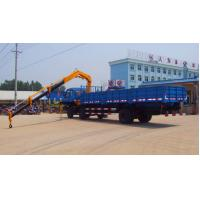 Quality small knuckle boom truck crane for sales for sale