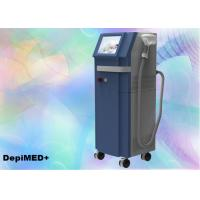 Quality Women 808nm Diode Laser Hair Removal Machine 10Hz 10 - 1500ms Pulses FCC for sale