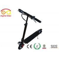 Quality Portable Childrens Electric Scooters , Folding Motor Scooter 10 Degrees Climbing Ability for sale
