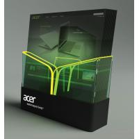 Quality Retail POS Plastic Display Stands For The Products Brochure with LED for sale