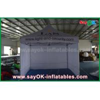 Quality 3 x 3m Aluminum Folding Tent With Three Side Walls Print for Advertising for sale