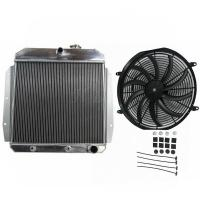 Buy cheap 3 Row Full Aluminum Radiator For 55 56 57 58 59 Chevy Apache Truck from wholesalers
