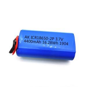 Quality CC CV 18650 UN38.3 4400mAh Li Ion 3.7 V Battery MSDS for sale