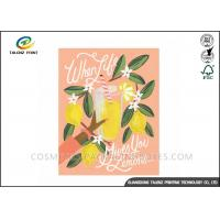 Buy cheap Festival Paper Greeting Cards Eco Friendly Materials For Mothers' Day from wholesalers