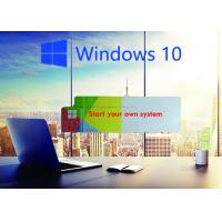 Quality Global Area COA License Sticker / Windows 10 Product Key Operating System for sale