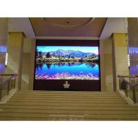 P4 HD 800 Nits Brightness Indoor LED Video Wall 14-16 Bits For Advertising for sale