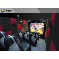 Quality 9 Seats Individual 5D Cinema System with Camera and Financial System for sale