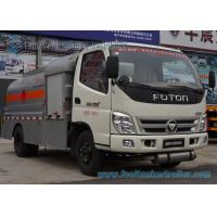 Quality 5 Speed Foton 4 x 2 Refuelling Chemical Tanker Truck With Air Braking for sale