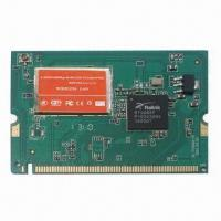 China Wireless Network Mini PCI Adapter, Compliant with IEEE 802.11b/g/n standard on sale