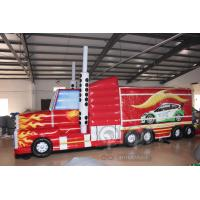 Quality Transformers Truck Inflatable Obstacle Course for sale