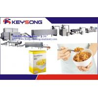 China Industrial Puffed Rice Cake Machine , High Capacity Corn Flakes Production Line on sale