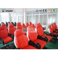 Buy Dynamic Movie Theater Seats In 5D Motion Theatre With Electric / Pneumatic / Hydraulic System at wholesale prices