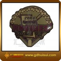 Quality cheap custom brass epoxy badge for sale
