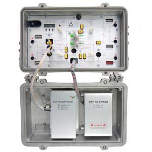 Quality 2 Way Design Fiber Optic Node Receiver Optical Workstation GWS1000H4J-F++ for sale