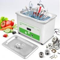 Quality 0.8L Digital Industrial Ultrasonic Cleaner For Tools , Nuts , Bolts , Power Adjustable for sale