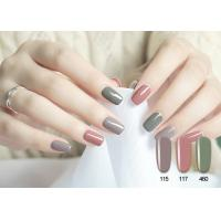 Quality Beautiful Sweet Color Multi Choise Soak Off No Odor Lively Pure Color UV Gel Polish for sale