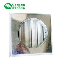 Return Air Grilles Clean Room Ventilation Architectural Air Shutter With Pipe Connection for sale