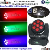 Quality LED 7*15W Moving Head Light for sale