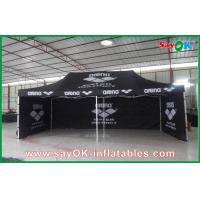 Quality Aluminum Frame Folding Waterproof Tent  / Black Giant Outdoor Tent for sale