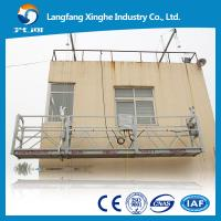 zlp series mobile suspended scaffolding platform , mast climbing platform for building facade cleaning , maintenance