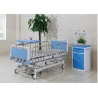 Quality Multi Function Manual Hospital Pediatric Hospital Beds With Four Cranks for sale