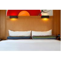Buy HPL Laminate plywood hotel furniture liquidators Guest rooms Wood Headboards at wholesale prices