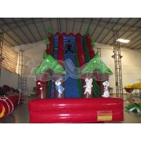 Quality Stimulating Cliff Hanger Inflatable slide for sale