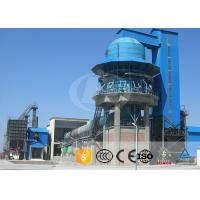 China Calcining Limestone Production Line Sponge Iron Rotary Lime Kiln Dry And Wet Type on sale