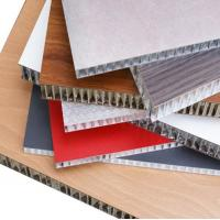 Quality Thermal Insulation Aluminum Honeycomb Panels Fire Resistance For Wall Cladding for sale