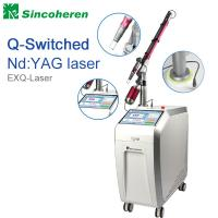 Quality Q Switched Nd YAG Laser Tattoo Removal Machine , Laser Treatment For Birthmark / Nail Fungus for sale