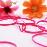 Quality Custom colorful eco-friendly plastic tpu elastic hair rubber band for sale