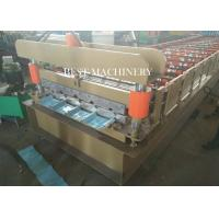 Buy Cladding Profile IBR Metal Roofing Sheet Roll Forming Machine PLC Control at wholesale prices