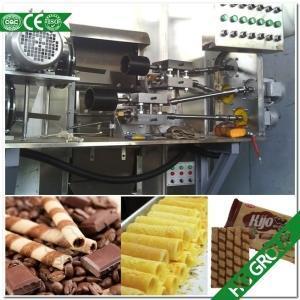 China Chocolate Wafer Roll Making Machine on sale