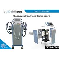 Quality Non Invasive Cryolipolysis Machine Fat Freezing For Body Slimming with 4 handle for sale