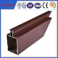 Quality Top selling aluminum decorative wall panel extrusion profiles supplier for sale