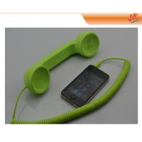 Buy Green Portable Retro Handset For Iphone, Universal Cell Phone With LED Indicator Light at wholesale prices