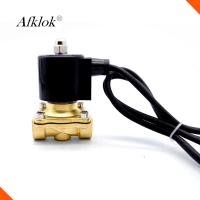 Quality Electric Water Valve Waterproof , Stainless Steel Solenoid Valves For Water for sale