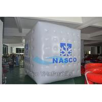Quality Parade Events 3D Cube Balloon Digital Printing Helium Advertising Balloons for sale
