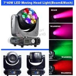 China 7*40W ZOOM LED Moving head light/ DJ light/Beam&wah light/ stage lighting for sale